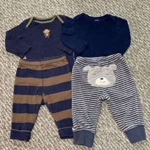 Baby Boy Outfit Bundle